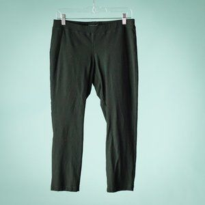 Eileen Fisher MP Black System Crepe Pull On Pants